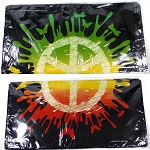 Wholesale Bandannas (Dozen-Pack) - Rasta PEACE Sign