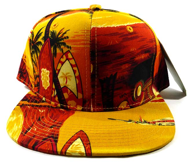 Blank Hawaii Snapback Hats Caps Wholesale - Sunset   Surf d62859408b5