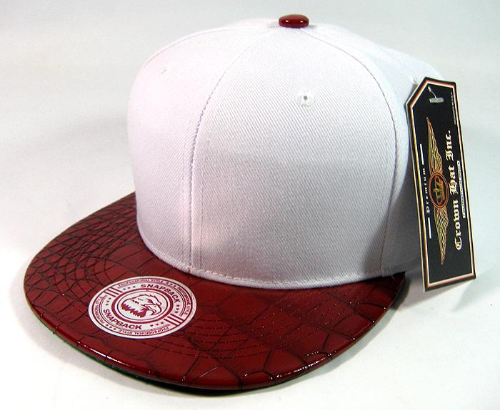 Blank Vintage Alligator Skin Snapback Hats Wholesale  62cf95e4f24