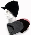 Visor Beanies - Winter Hats Wholesale