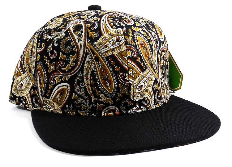 Wholesale Blank Paisley Snapback Hats Caps 22 f5b6f9054d8