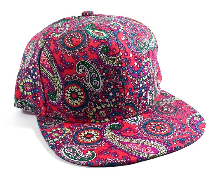 5d6902e9eb3 Wholesale Fashion Blank Paisley Snapbacks Hats Caps 3