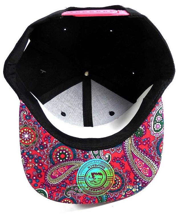 469d2efeb60 Wholesale Fashion Blank Paisley Snapbacks Hats Caps 2