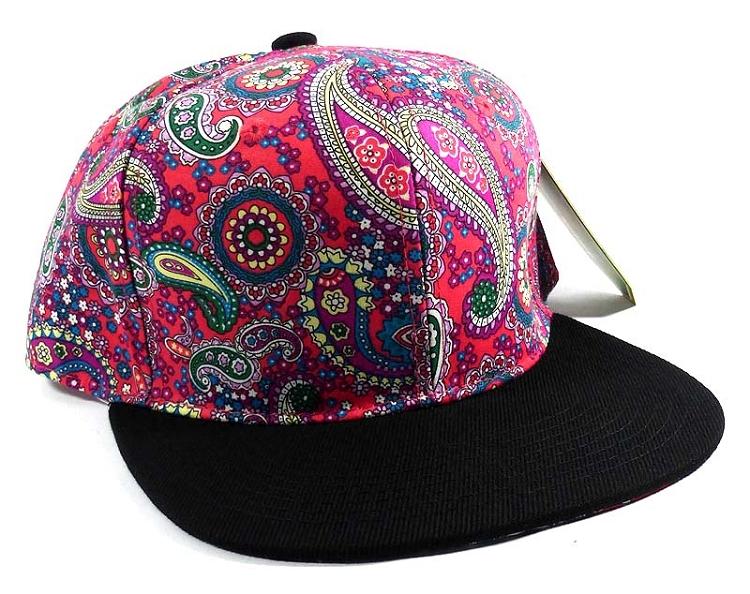 fb66aebe409 Wholesale Fashion Blank Paisley Snapbacks Hats Caps 1