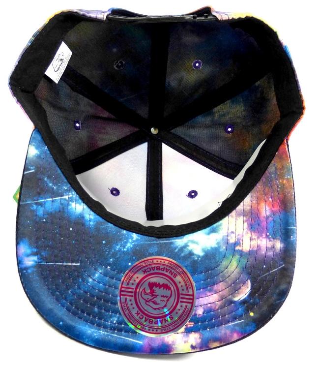 0f0b5df7 Wholesale Blank Snapback Hats - Galaxy Print | Multicolor 2