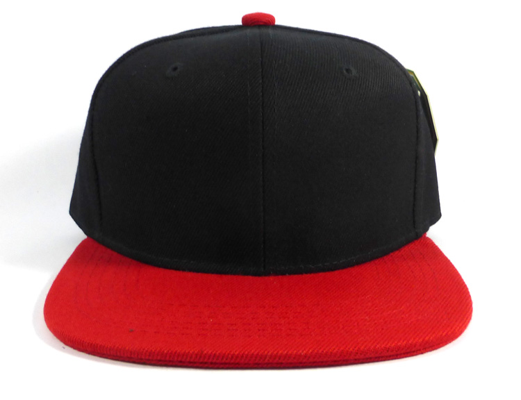 KIDS Junior Blank Snapbacks Hat Wholesale - Black  c1b71813b15