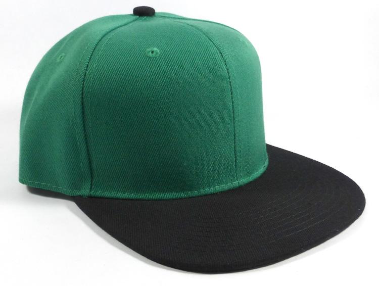 Blank Snapback Hats Caps Wholesale - Kelly Green  08d943cd78e
