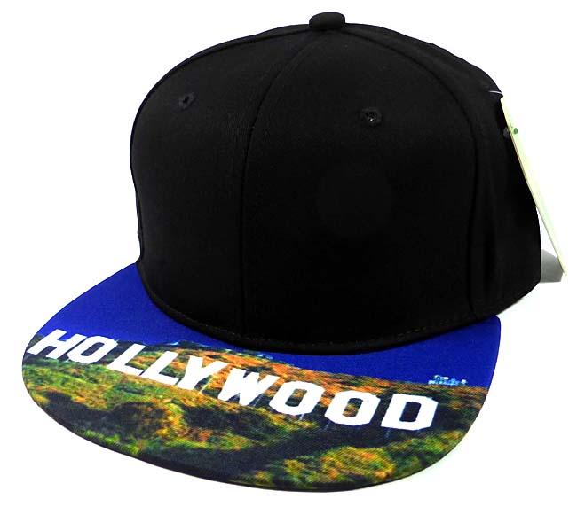 cc8b4760 6-Panel Blank Strapback Hats Caps Wholesale - Hollywood