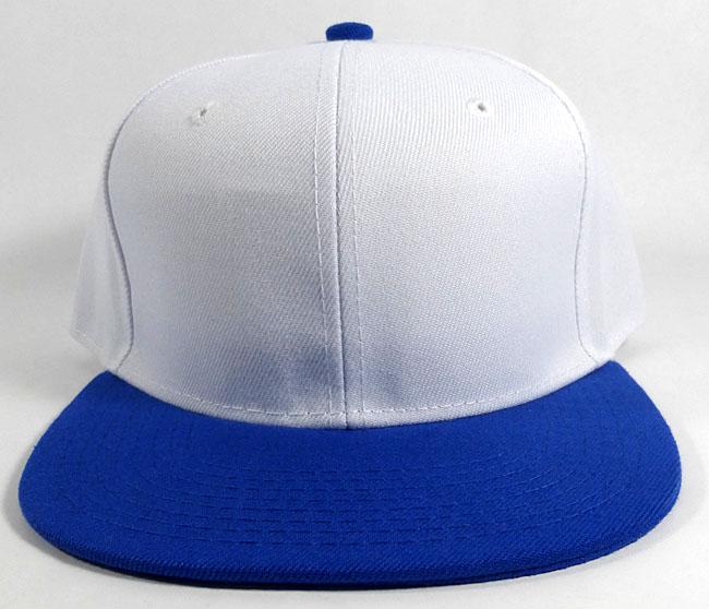 Wholesale Blank Snapback Hats Caps - White  84aad3d1e49