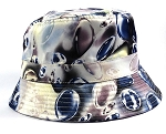 Wholesale Fashion Blank Bucket Hats - Marbles