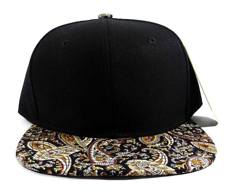 Home   ALL HATS   Wholesale Blank Paisley Snapback Hats Caps 23 af44ee6a215