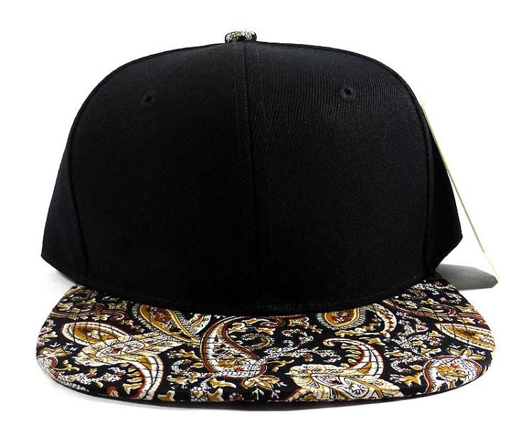 Home   ALL HATS   Wholesale Blank Paisley Snapback Hats Caps 23 e55cce3977d