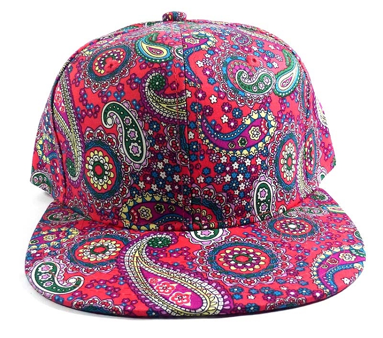 d4aad07e339 Home   ALL HATS   Wholesale Fashion Blank Paisley Snapbacks Hats Caps 3