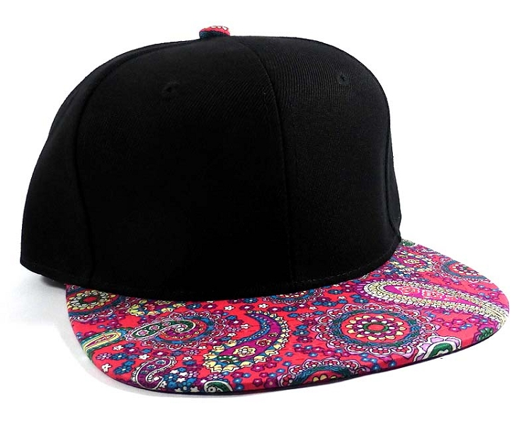 51bb24c607b Home   ALL HATS   Wholesale Fashion Blank Paisley Snapbacks Hats Caps 2
