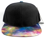 Wholesale Blank Snapback Hats - Galaxy Print | Multicolor 3