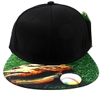 6-Panel Blank Strapback Hats Caps Wholesale - Baseball & Gloves