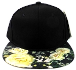 6-Panel Blank Strapback Hats Women's Caps Wholesale - Roses
