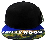 6-Panel Blank Strapback Hats Caps Wholesale - Hollywood