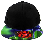 6-Panel Blank Strapback Hats Caps Wholesale - Ladybug