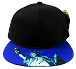 6-Panel Blank Strapback Hats Caps Wholesale - Statue of Liberty