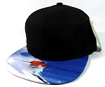 6-Panel Blank Strapback Hats Caps Wholesale - Skier