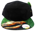STRAPBACK 5-Panel Blank Hats Caps Wholesale - Baseball & Gloves