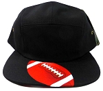 STRAPBACK 5-Panel Blank Camp Hats Caps Wholesale - Football