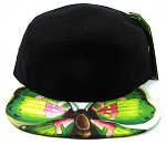 STRAPBACK 5-Panel Blank Camp Hats Caps Wholesale - Butterfly