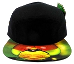 STRAPBACK 5-Panel Blank Camp Hats Caps Wholesale - Dragonfly