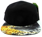 STRAPBACK 5-Panel Blank Camp Hats Caps Wholesale - Dragon vs. Tiger
