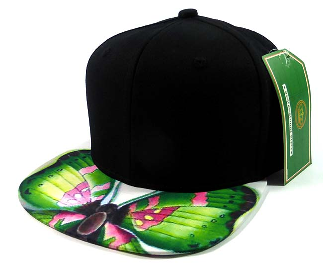 0a57ee97 Home > ALL HATS > 6-Panel Blank Strapback Hats Caps Wholesale - Butterfly