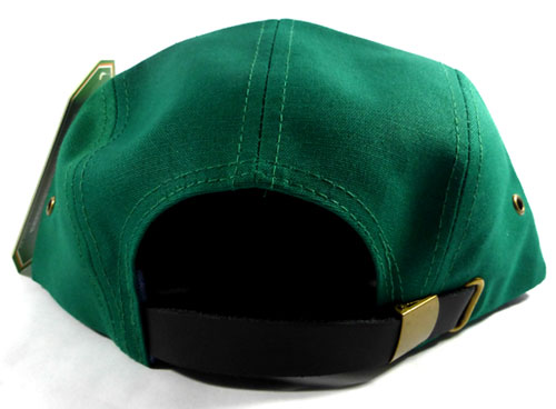 Wholesale Blank Wooden Cork 5-Panel Hats Caps - Green  aaf1d1b3f8a4