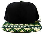 Wholesale Aztec Snapbacks Caps - Green