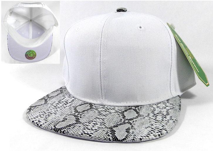 53476c761 Animal Print Snakeskin Snapback Hats Wholesale - White