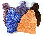 Beanies Wholesale | Pom Pom Beanie Knit Hats