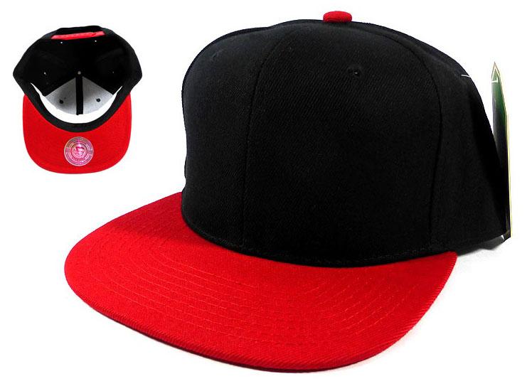 Home   ALL HATS   Wholesale Blank Snapback Hats Caps - Black  24abf7809aa