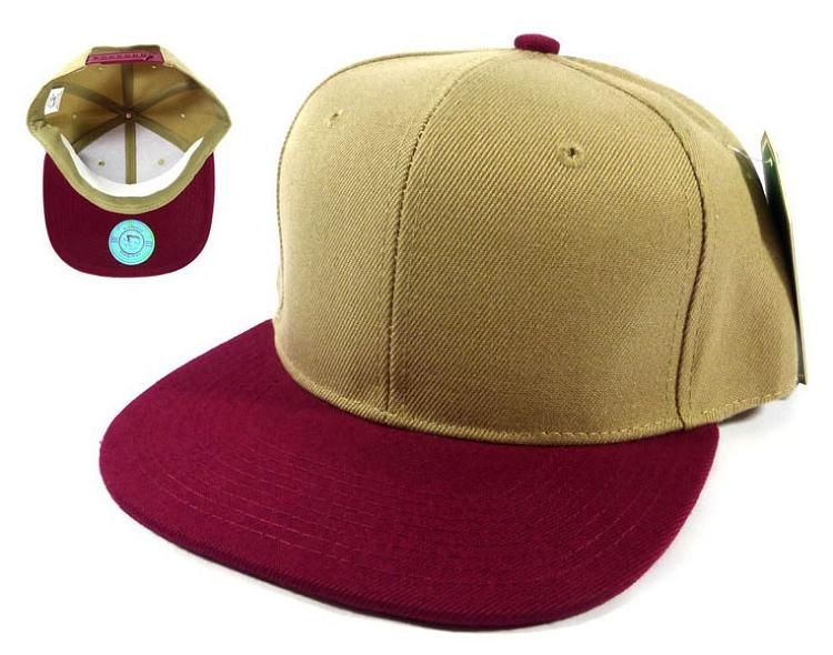 Home   ALL HATS   Wholesale Blank Snapback Hats Caps - Khaki  ef2aa2f13e5