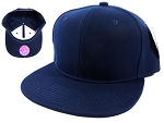 Blank Snapback Caps Hats Wholesale - Navy | Navy