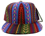Blank Aztec Snapback Hats Wholesale - Multicolored Pattern 3