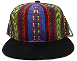 Wholesale Blank Aztec Snapback Hats - Multicolored Pattern 2