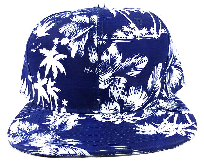 Home   ALL HATS   Wholesale Blank Floral Snapback Hats - Hawaiian Flower  Silkscreen Print af77c0b2b86