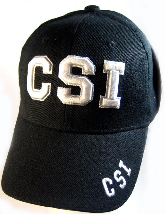 2b313687f9bb6 Law   Order Hat - CSI Logo Ball Cap Wholesale. CSI Hat Wholesale
