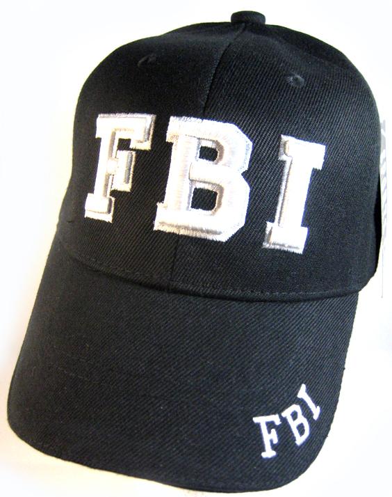 Law   Order Hat - FBI Logo Ball Cap Wholesale FBI HATS f3acaf0bd5e
