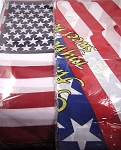 American Flag & God Bless America Double-Sided Bandanas 100% Cotton Wholesale (Dozen Priced)