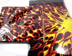 All Over Flames Double-Sided Bandana 100% Cotton Wholesale  (Dozen Packed) - one flame