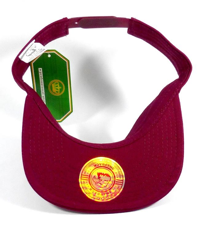 Flatbill Wholesale Blank Snapbacks Hats Visors - Burgundy 1c30d8b7c24
