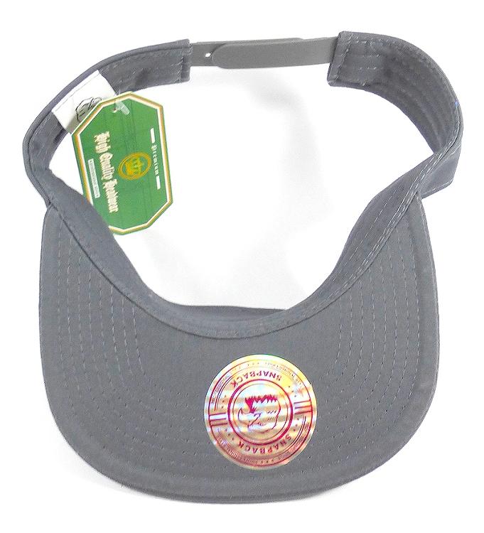 Flat bill Bulk Plain Snapbacks Caps Visor - Dark Gray 0a031740bef