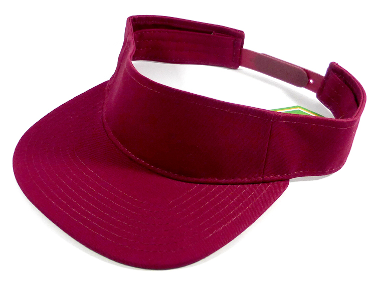 Flatbill Wholesale Blank Snapbacks Hats Visors - Burgundy ac3d896a75b