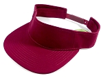 Flatbill Wholesale Blank Snapbacks Hats Visors - Burgundy