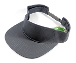 Flat bill Bulk Plain Snapbacks Caps Visor - Dark Gray